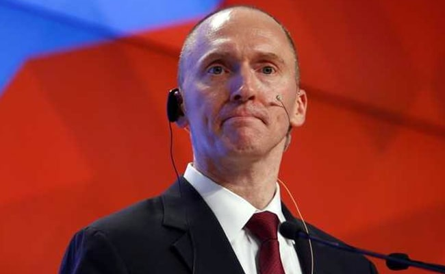 In Russia Meddling Probe, Trump's Ex-Adviser's Documents Released By FBI
