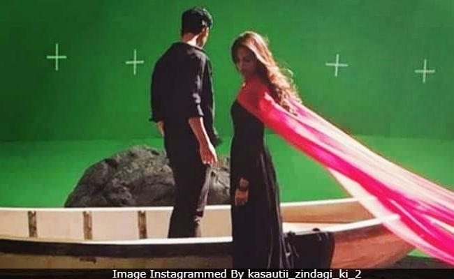 Trending: Erica Fernandes Shoots For Kasautii Zindagii Kay Remake Promo