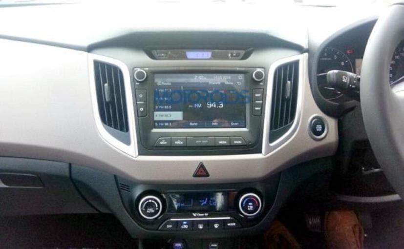 hyundai creta facelift dashboard
