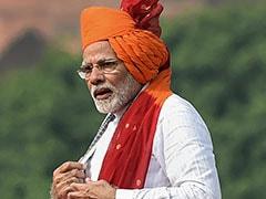 Independence Day 2018 : लाल किले से बोले पीएम मोदी : 2022 तक कोई भारतीय तिरंगा लेकर अंतरिक्ष में जाएगा