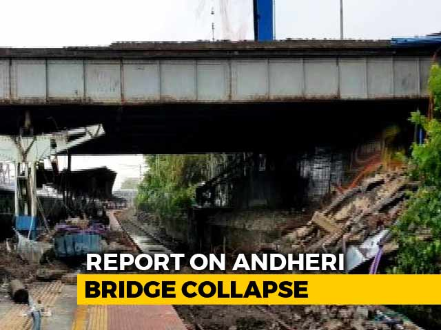 Video : Corrosion, Excess Load Caused Mumbai's Andheri Bridge Collapse: Report