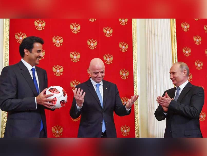Russia Hands Over FIFA World Cup Hosting Duties To Qatar