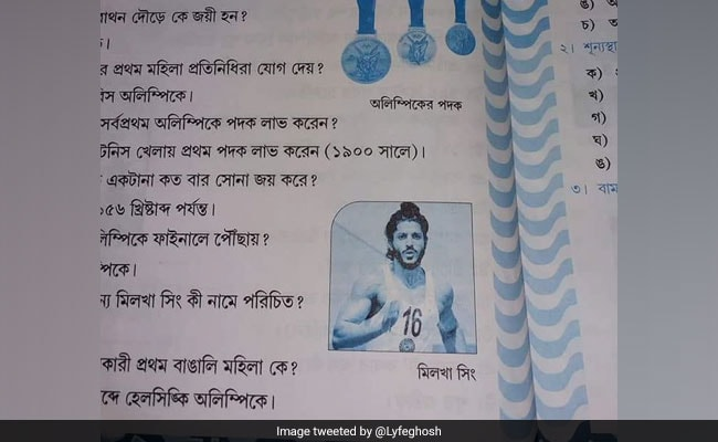 West Bengal School Book Uses Farhan Akhtar's Pic For Milkha