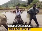 "Video : ""Follow The Bulls"": Telangana Duo's Brief For Viral Kiki Challenge Video"