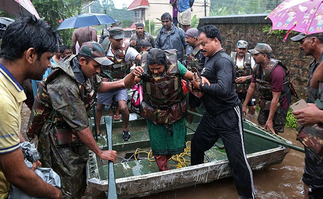 Image result for kerala floods army