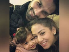 Our Fave Pics Of Shahid Kapoor And Mira Rajput With Daughter Misha. Awaited, Pics Of New Baby