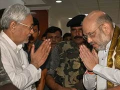 Nitish Kumar Calls On Amit Shah Amid Seat-Sharing Talks For 2019 Polls