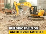 Video : 9 Dead In Greater Noida Building Collapse, Rescue Operations Continue
