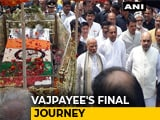 Video : PM Modi Walks Entire Duration Of Atal Bihari Vajpayee's Funeral Procession