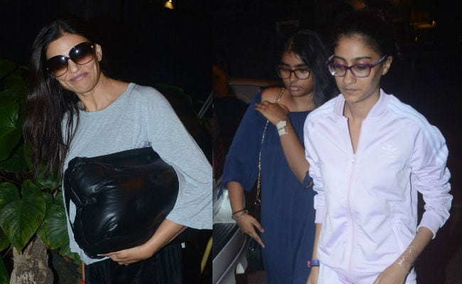 Catching Up With Sushmita Sen And Her Daughters Reene And Alisah