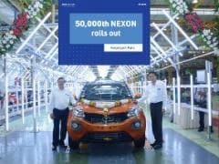 50,000th Tata Nexon Rolled Out From The Ranjangoan Facility