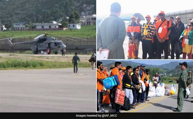 Indian Air Force Airbridge To Airlift Over 1,000 Kailash Yatra Pilgrims