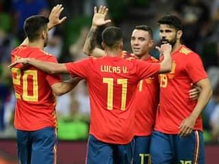 FIFA World Cup Warm-Up: Spain Fail To Impress In Narrow Tunisia Victory