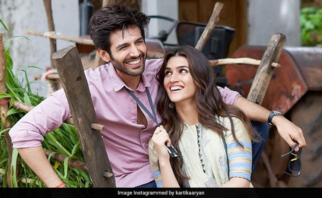 Kriti Sanon And Kartik Aaryan Post A Pic From Day 1 On Luka Chuppi Set
