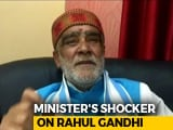 "Video : Minister Ashwini Choubey Calls Rahul Gandhi ""Schizophrenic, Sewer Worm"""