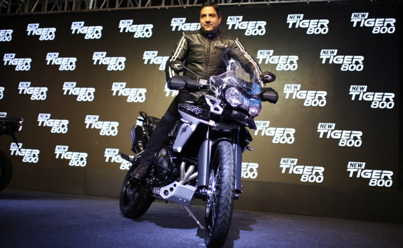 Vimal Sumbly was the MD of Triumph Motorcycles India for 5 years