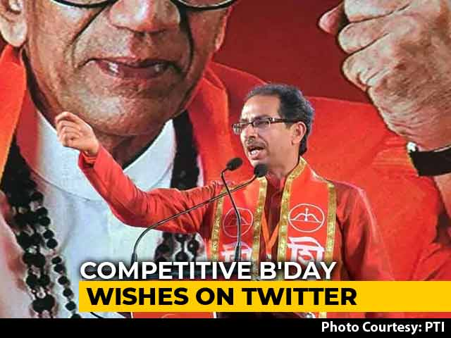 Video : Look Who Tweeted On Uddhav Thackeray's Birthday. He's Not Even On Twitter