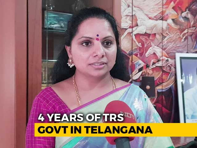 Video : Will Present Our Report Card To The People: Telangana CM's Daughter On Mega TRS Rally