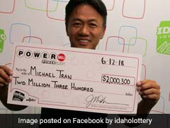 For 18 Years He Played Lottery With Same Numbers. He Just Won $2 Million
