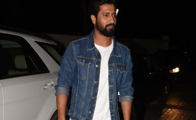Vicky Kaushal at the screening