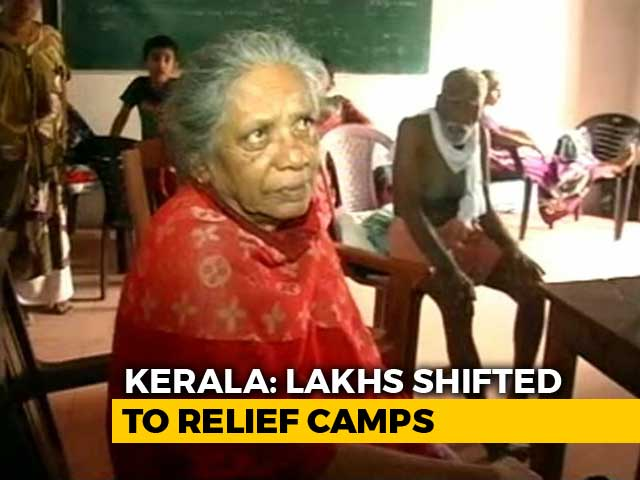 Video : At Relief Camp In Flood-Hit Kerala, Clean Water, Power Are Tough Asks