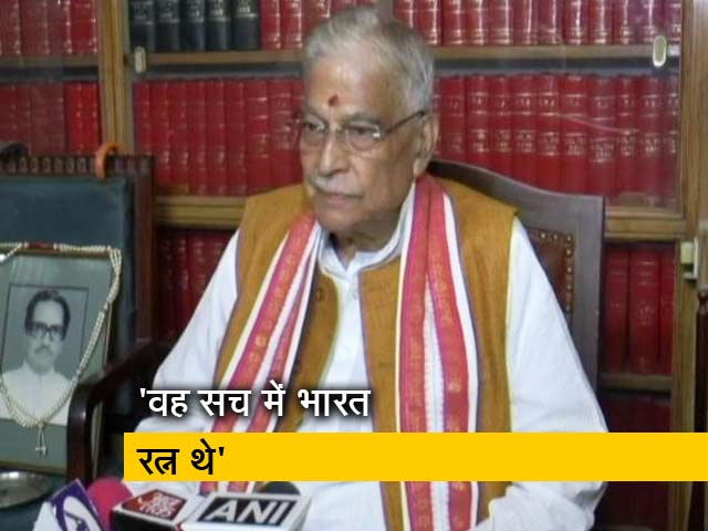 Videos : किसी दल के नहीं बल्कि राष्ट्र नेता थे वाजपेयी: मुरली मनोहर जोशी