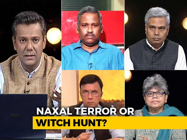 Video : Activists Arrested: Naxal Terror Plot Or Witch Hunt To Shut Down Dissent?