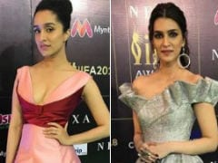 IIFA Awards 2018: Shraddha Kapoor, Kriti Sanon Impress The Green Carpet Fashion Police
