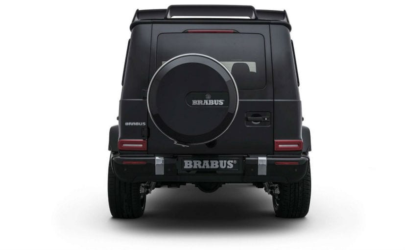 Brabus Enhances The Mercedes G-Class With New Performance