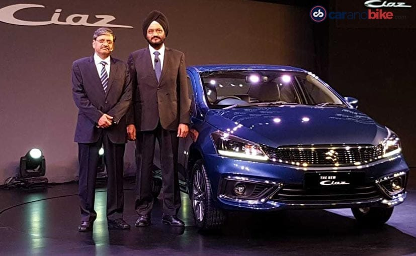 2018 Maruti Suzuki Ciaz Facelift Launched In India Prices Start At