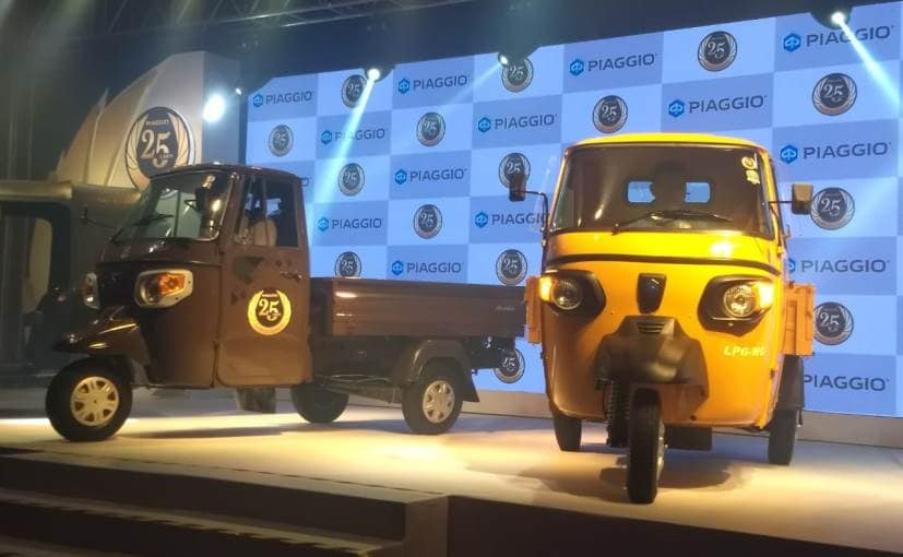 Piaggio Launches Its BS6 Range Of CNG 3-Wheelers In Bhopal