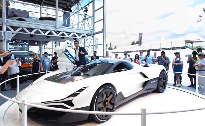 Vazirani Shul hypercar is underpinned by a carbon-fibre tub chassis similar to that of the BMW i8