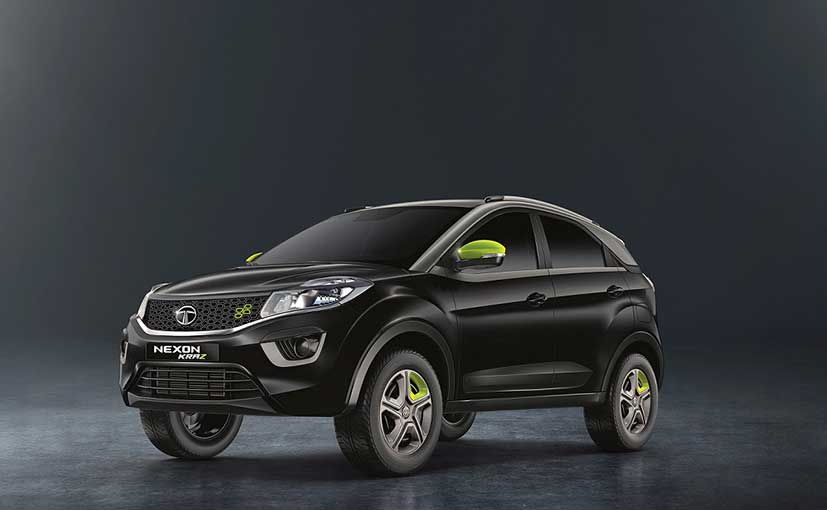The Tata Nexon Kraz Edition is available on both petrol and diesel manual variants