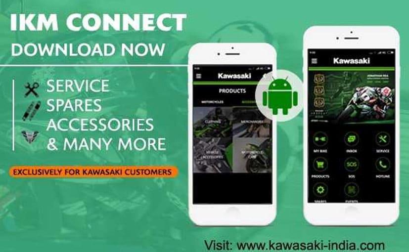 Kawasaki has 30 dealerships and 12 mobile service vans across India