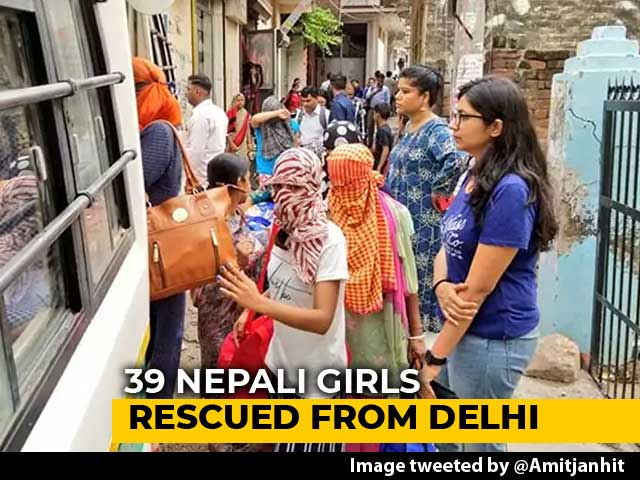 Video : International Prostitution Racket Busted, 16 Nepali Women Rescued