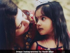 Janamshtami 2018: Farah Khan's Daughter Diva Makes A Really Cute Radha In This Million-Dollar Throwback Picture