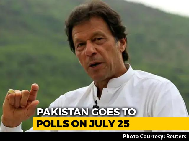 Video : Close Battle In Pak Polls: Is It Advantage Imran Khan?