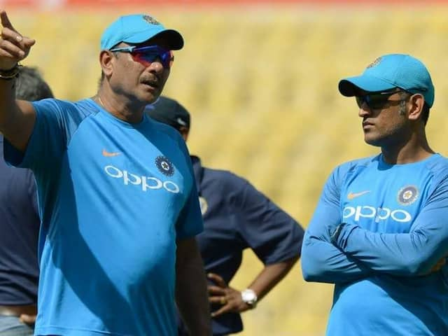 Ravi Shastri Concerned About MS Dhonis Fitness Ahead Of T20 World Cup