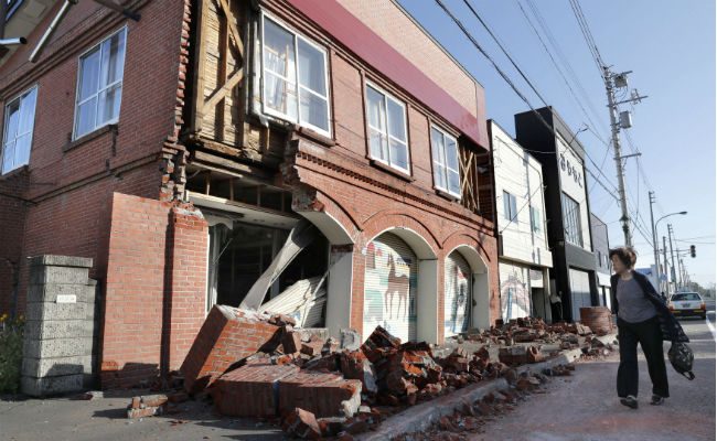 After 6.6 Magnitude Quake, Homes In Japanese Island Engulfed In Landslide