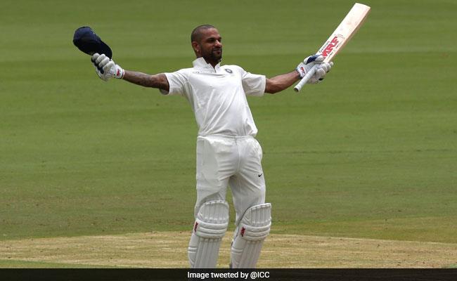 IND vs AFG: टेस्ट में शिखर धवन का टी-20 अंदाज, ऐसा करने वाले पहले भारतीय बने