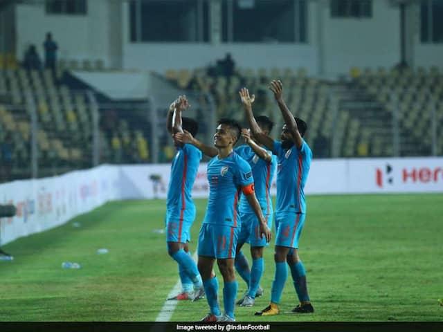 Indias Football Match In Mumbai Sold Out After Sunil Chhetris Heartfelt Plea