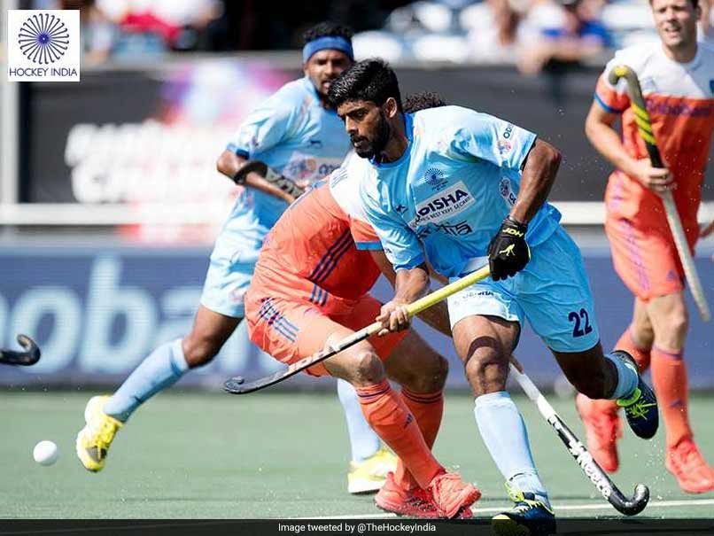 HCT2018, INDvAUS:India vs Austrlia Champions trophy Final in breda, Netherlands