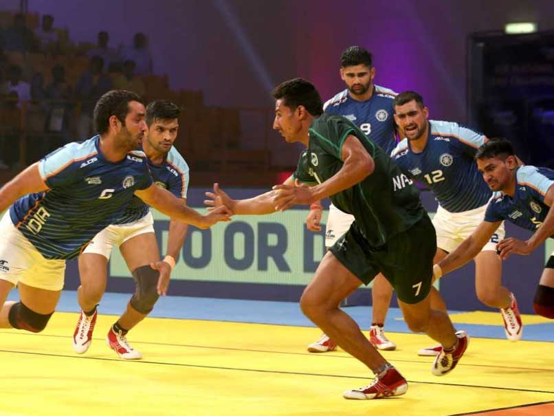 Kabaddi Masters: India Outclass Pakistan In Tournament Opener