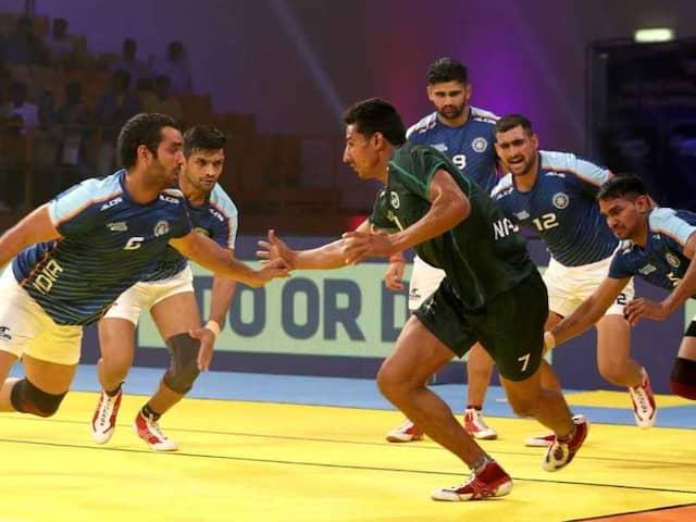 Kabaddi Masters: India Outclass Pakistan In Tournament Opener