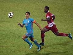 Chettri Brace Helps India Lift Intercontinental Cup