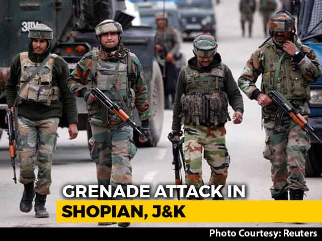 Video : 2 Soldiers Injured After Army Patrol Attacked In Jammu And Kashmir