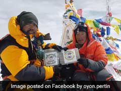 Indian Climbers Reach Everest After 13 Hour Non-Stop Trek Without Sherpas