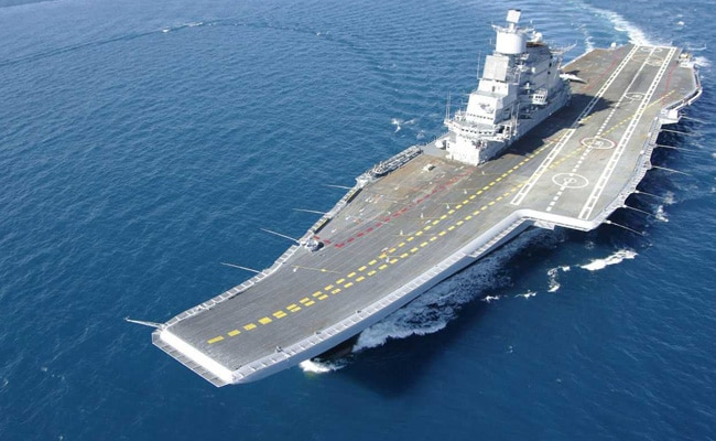 Navy's Biggest Ship, INS Vikramaditya, To Get Upgrade For Its Air Wing
