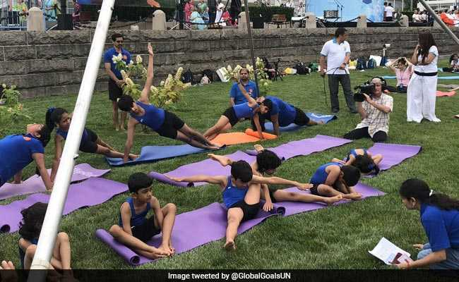 Yoga 'Very Apt For The United Nations', Says Its Deputy Secretary-General