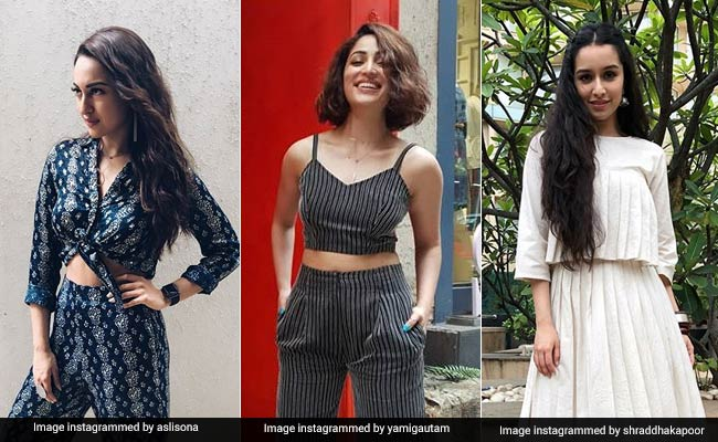 How Sonakshi Sinha, Yami Gautam And Shraddha Kapoor Rocked 3 Styles Of Co-Ord Sets
